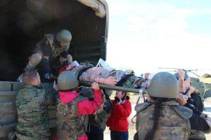 Campo de entrenamiento Brigada Sanidad 4