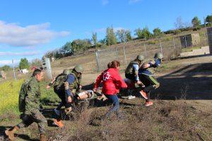 Campo de entrenamiento Brigada Sanidad 5